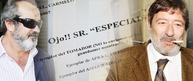'Señor Especial': así clasificaba la aseguradora de los ERE a los intrusos de pólizas falsas