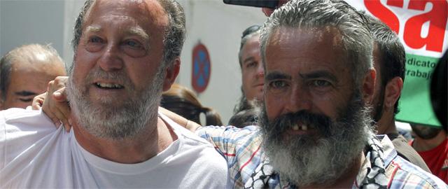 Sánchez Gordillo anuncia más 'tomas' de fincas, Mercadona y Carrefour