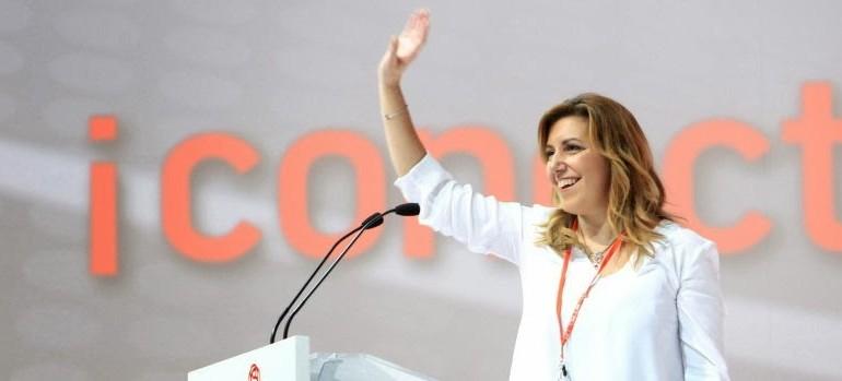 Susana Díaz 'cocina' un congreso del PSOE andaluz para reforzar su propia imagen