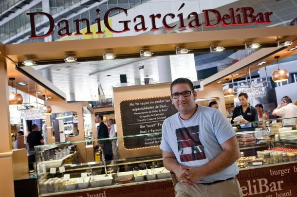 Dani García: tapas gourmet antes de volar desde el aeropuerto de Málaga