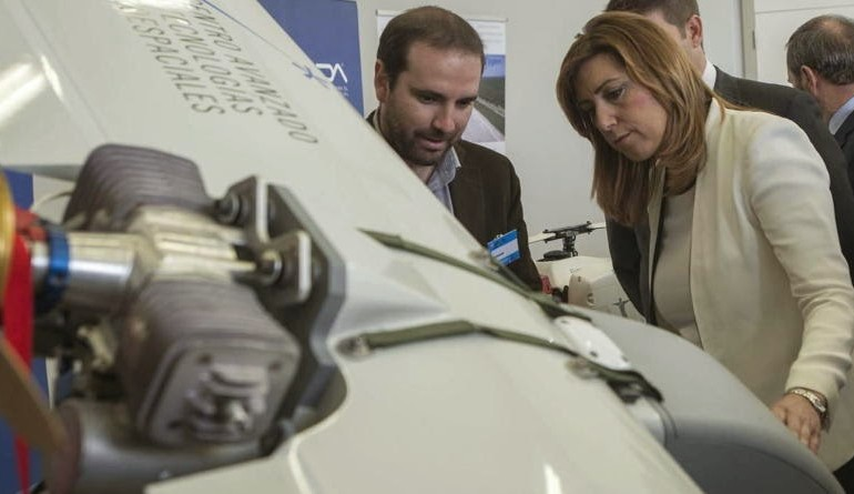 La Junta levanta un aeródromo junto a Doñana para drones civiles… que no existen