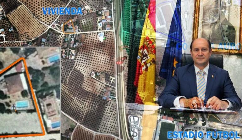 El chalé ilegal del alcalde de Montilla
