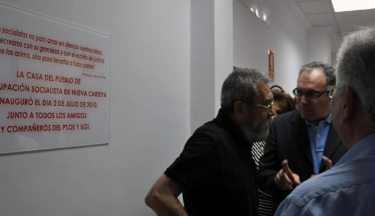 El PSOE subcontrató a UGT para dar cursos de formación en su sede de Nueva Carteya