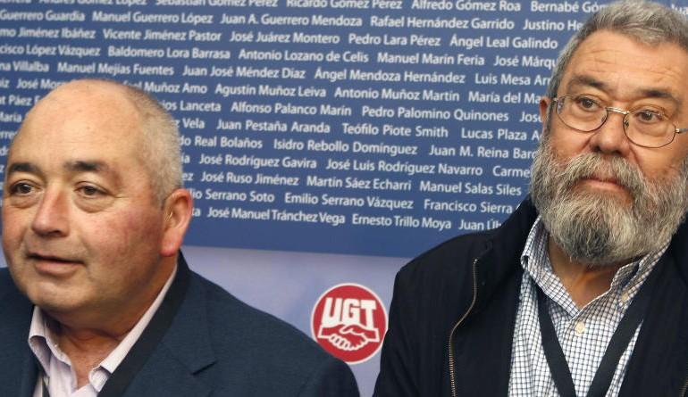 La Guardia Civil busca la firma de Pastrana en las facturas falsas de UGT