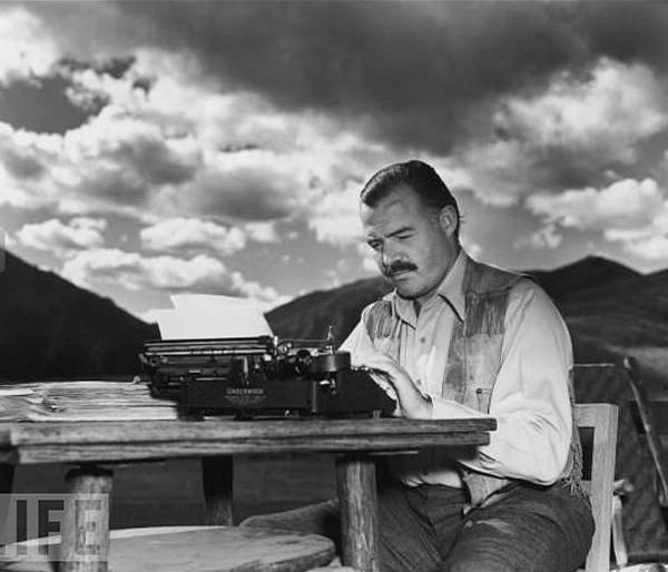 Consejos para escribir de Ernest Hemingway