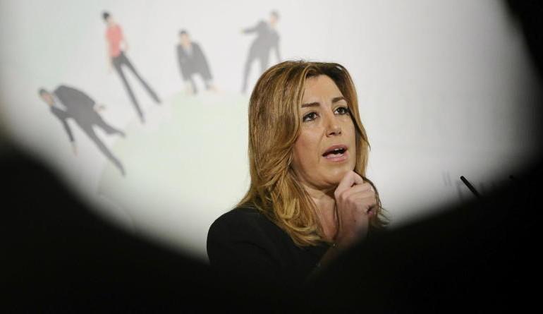 Susana Díaz alerta de la reedición de la pinza, esta vez entre Podemos y el PP