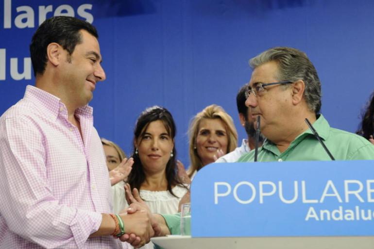 """El PP-A promete ser """"más cercano y humilde"""" para retener Sevilla y Málaga"""