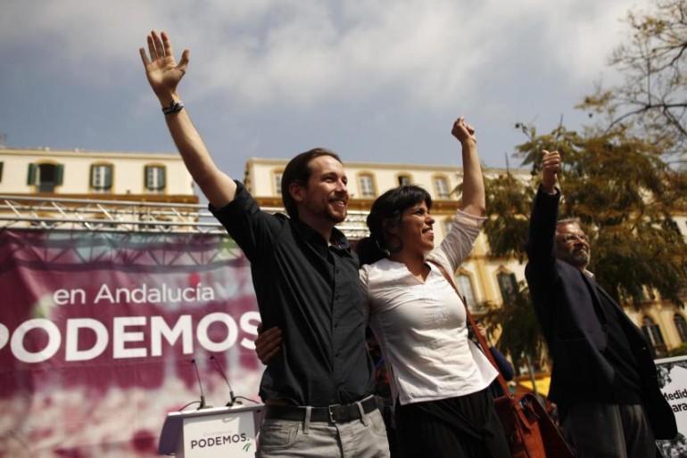 """Pablo Iglesias: """"Rajoy quiere que en Andalucía sigan gobernando los mismos"""""""