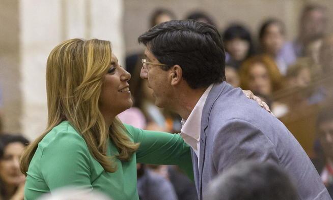 C's permitirá que el nº3 de Díaz, imputado, sea el portavoz en la Diputación de Málaga