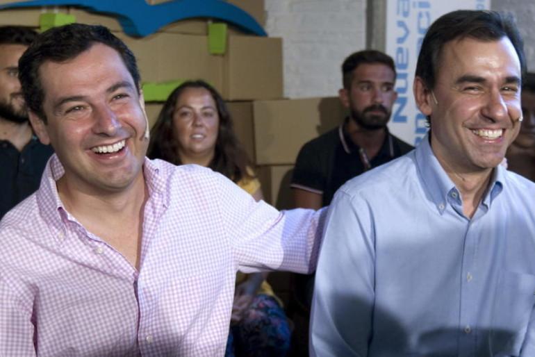 Moreno, el nuevo 'barón' de Rajoy, refuerza la marca PP-A para arrinconar a Génova