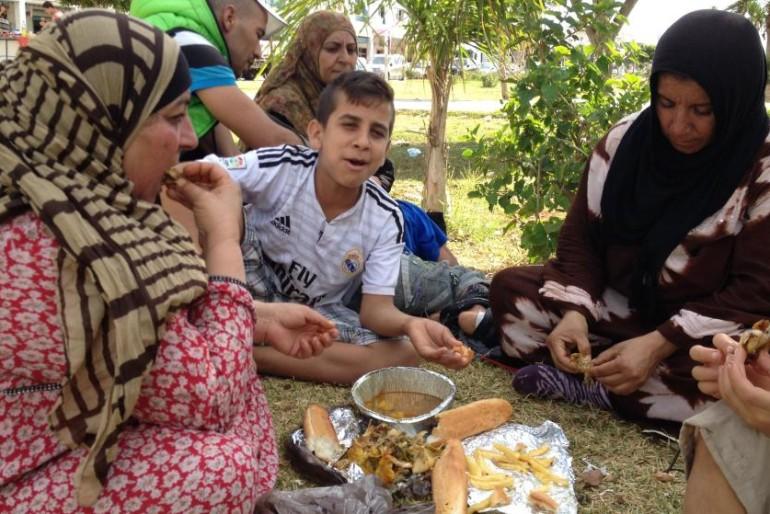 Los refugiados sirios se quedan sin dinero y ya pasan hambre