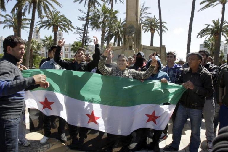 Los refugiados sirios se hacinan en el centro 'temporal' de inmigrantes de Melilla