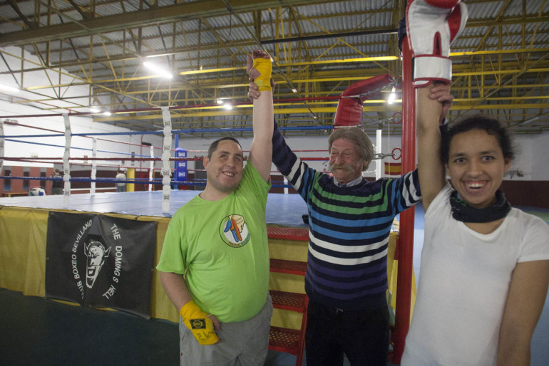 Boxeadores sordociegos: cómo combaten su aislamiento