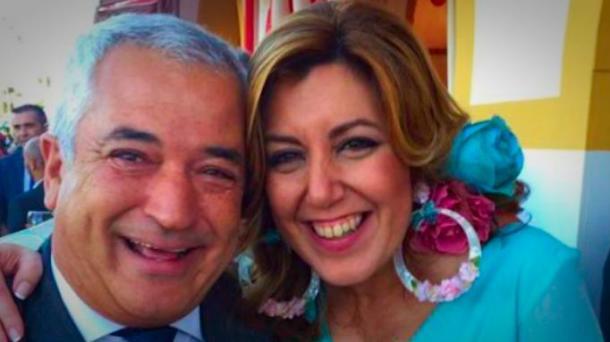 Las amistades peligrosas de Susana Díaz con el presidente de Ausbanc