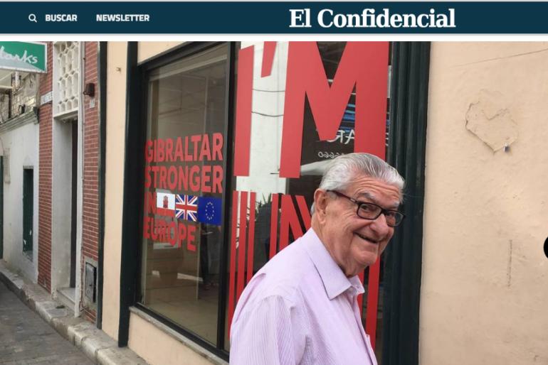La cobertura del Brexit en Gibraltar de El Confidencial