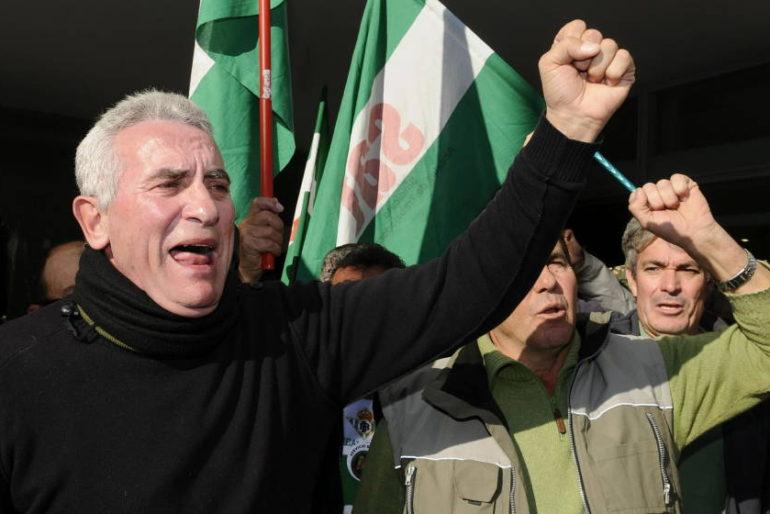 Diego Cañamero, un sindicalista en los brazos de Podemos