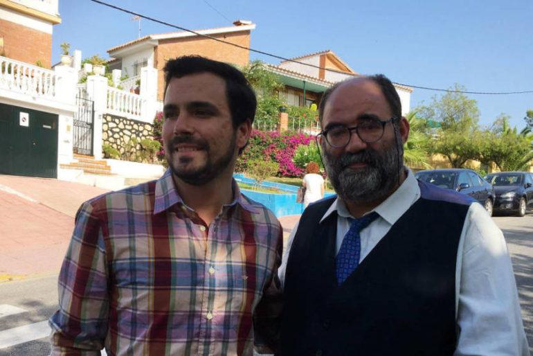 Alberto Garzón y la foto con el Mocito Feliz