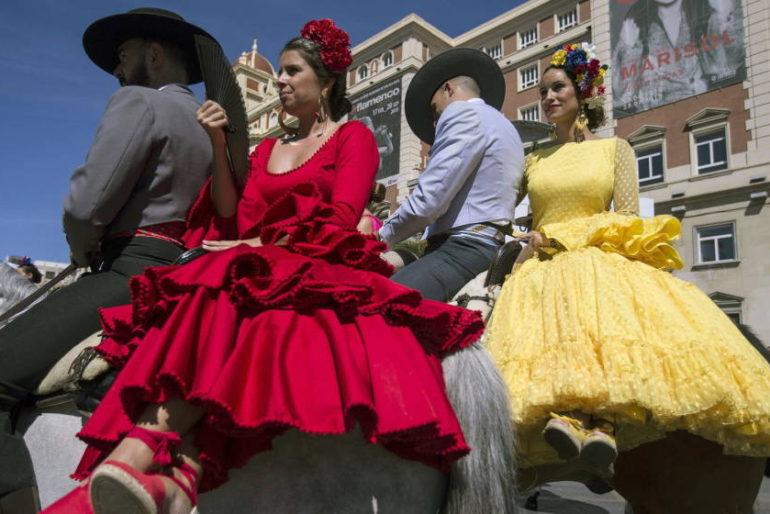 """""""No es no"""" en la Feria de Málaga: la campaña contra los abusos sexuales"""