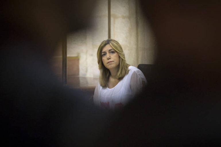 Susana Díaz espera que Rajoy mueva ficha el 17-A