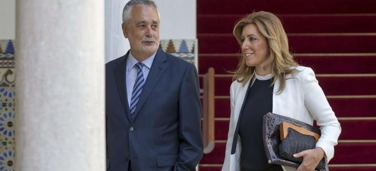 Susana Díaz quiere prohibir las donaciones privadas a los partidos políticos