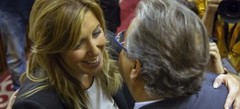 Zoido queda en evidencia ante Susana Díaz por su falta de autoridad en el PP-A