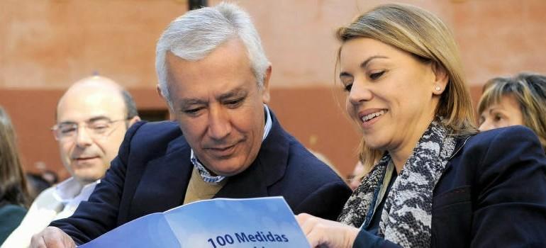 El frenazo de Rajoy al 'casting' del PP-A revive la guerra entre Cospedal y Arenas