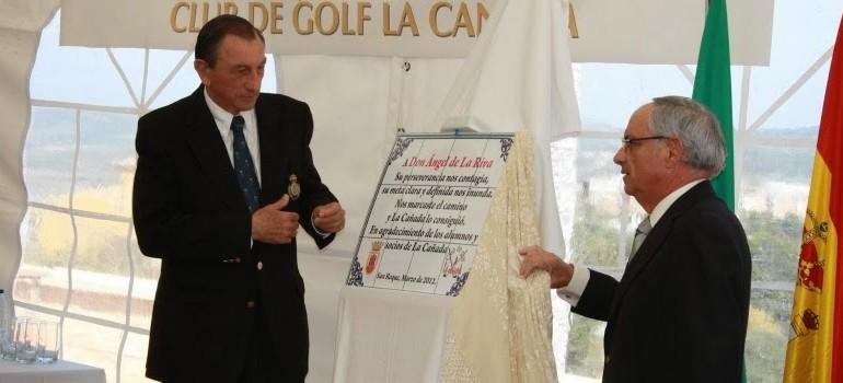 El presidente de la Federación Andaluza de Golf se agarra a su cargo desde 1968