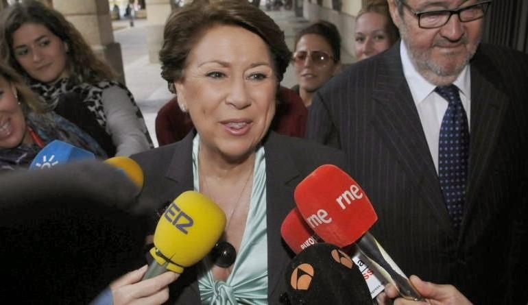 Alaya impone una fianza civil de 29 millones a la exministra Álvarez