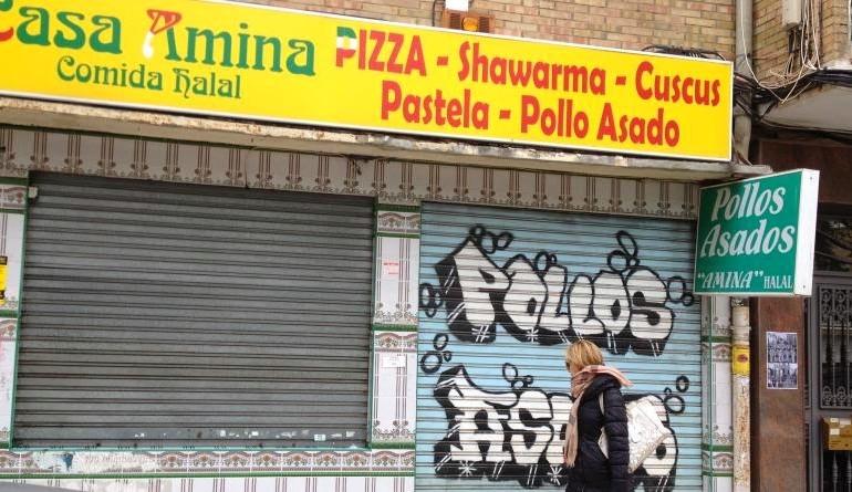 La yihad entre los pollos asados en Málaga