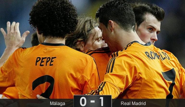 El Real Madrid sabe sufrir con un Cristiano que es más rebelde que todo el Málaga