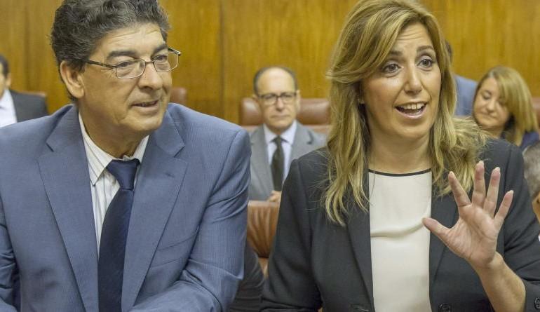 Susana Díaz se plantea convocar elecciones anticipadas ya tras la 'traición' de IU