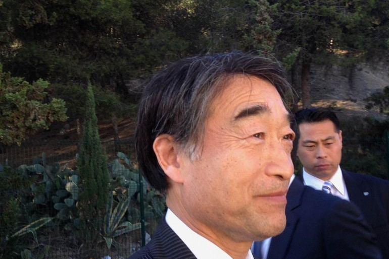 Entrevista con Takumi Nemoto, ministro para la Reconstrucción de Japón de las zonas afectadas por el tsunami de marzo de 2011
