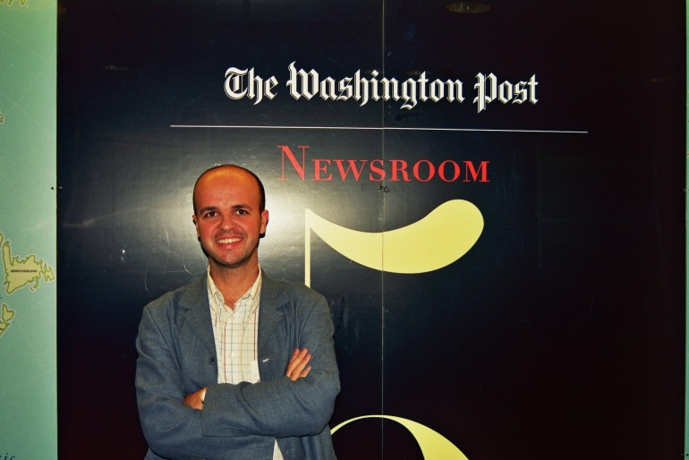 La tarde que visité 'The Washington Post'