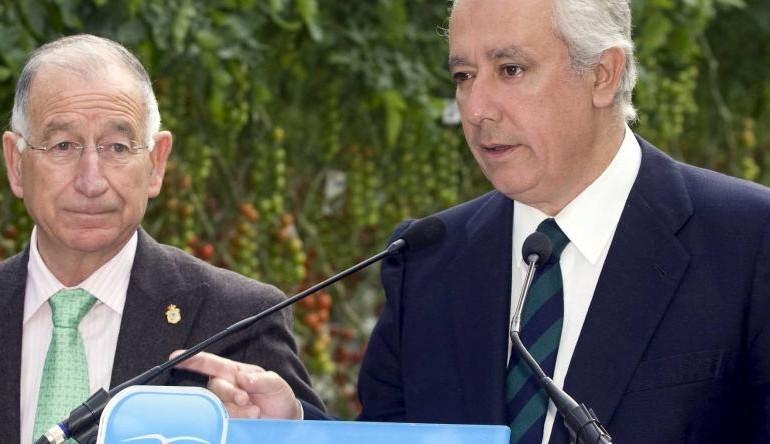 Otro problema para el PP: Amat, presidente del partido en Almería, nuevo imputado