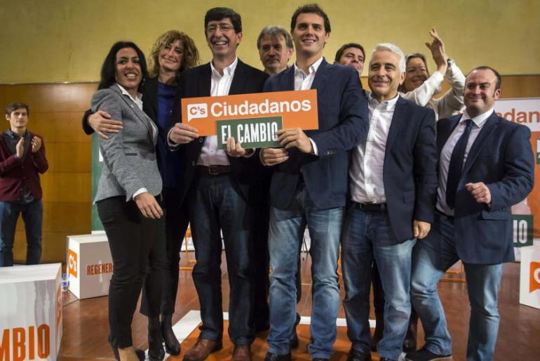 Andalucía: críticos de Ciudadanos 'pasan' de sondeos y se amotinan contra la dirección