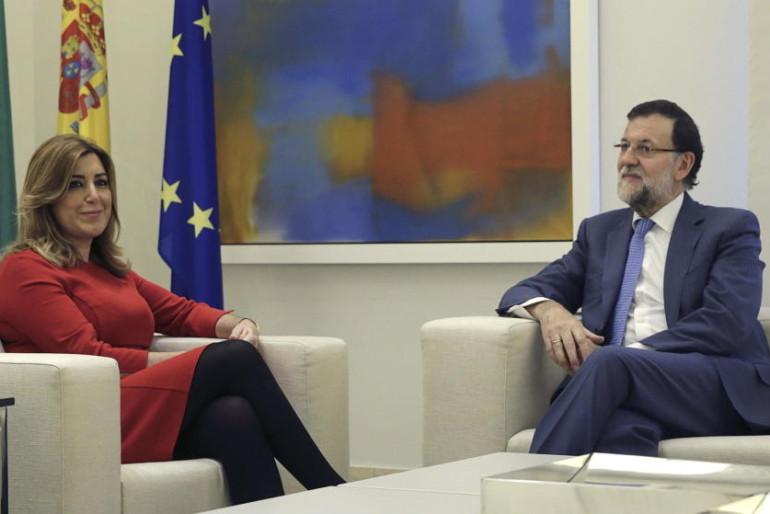 """Díaz no se fía de Rajoy: exige un compromiso """"por escrito"""" en la financiación andaluza"""