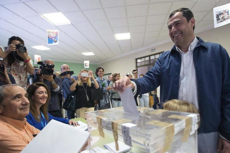 Sólo Málaga se salva de la debacle del PP en Andalucía