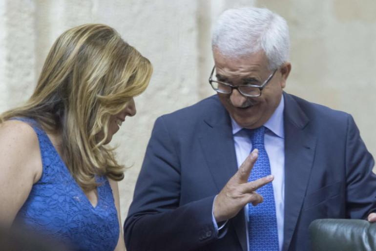 El parto de Susana deja a 'Chiqui' 40 días al frente de la Junta de Andalucía
