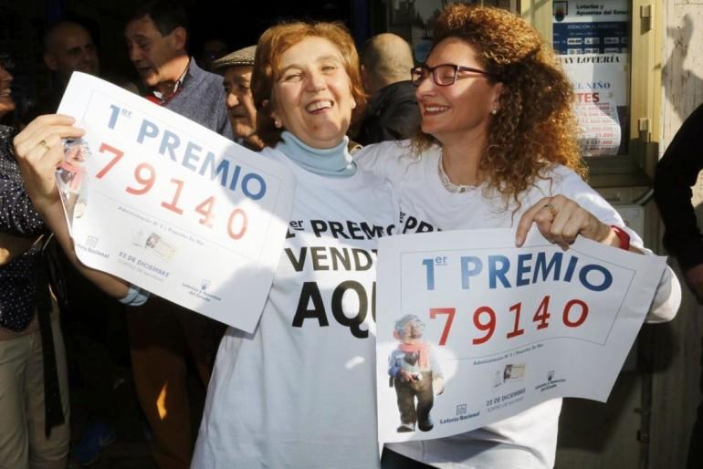 El 'Gordo' de la Lotería cae en Roquetas de Mar
