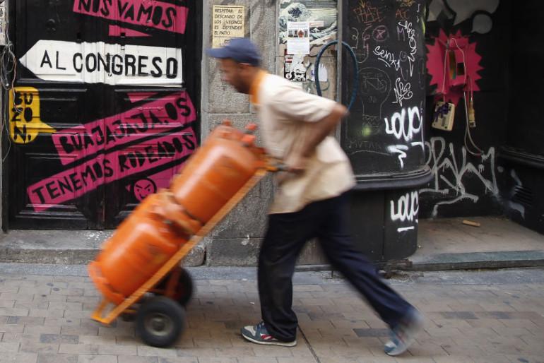 La crisis de la bombona de butano en España