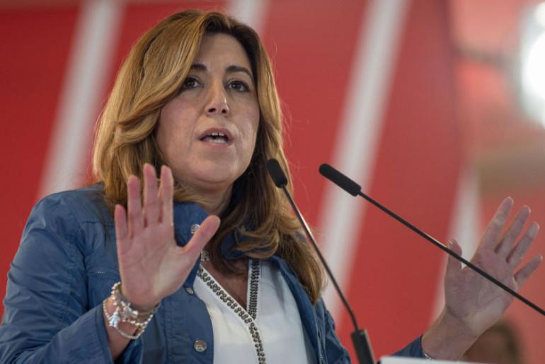 Oposición a la presidente de la Junta: el frente del PSOE-A anti Susana Díaz