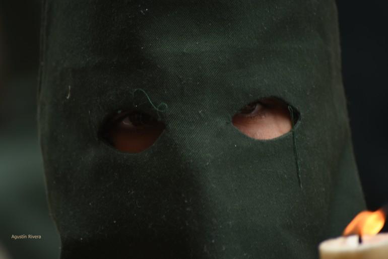 La mirada del nazareno de Lágrimas y Favores