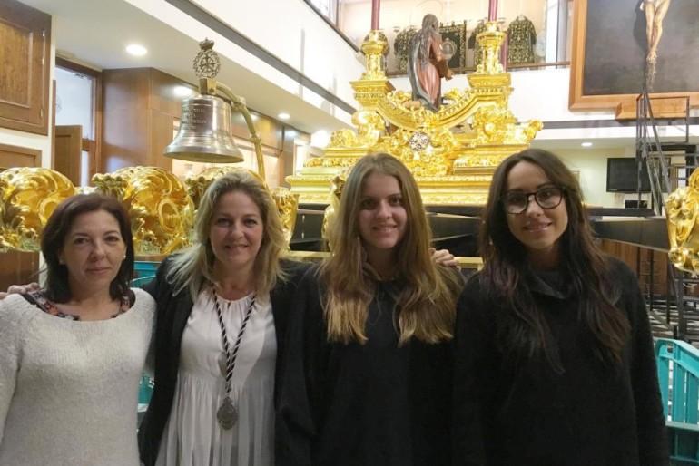 Las mujeres de trono de Málaga