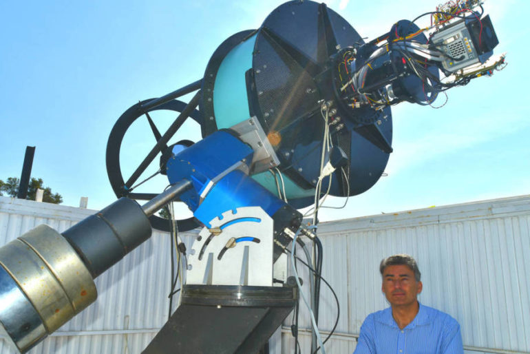 Alberto J. Castro Tirado (astrofísico) y el llanto del agujero negro