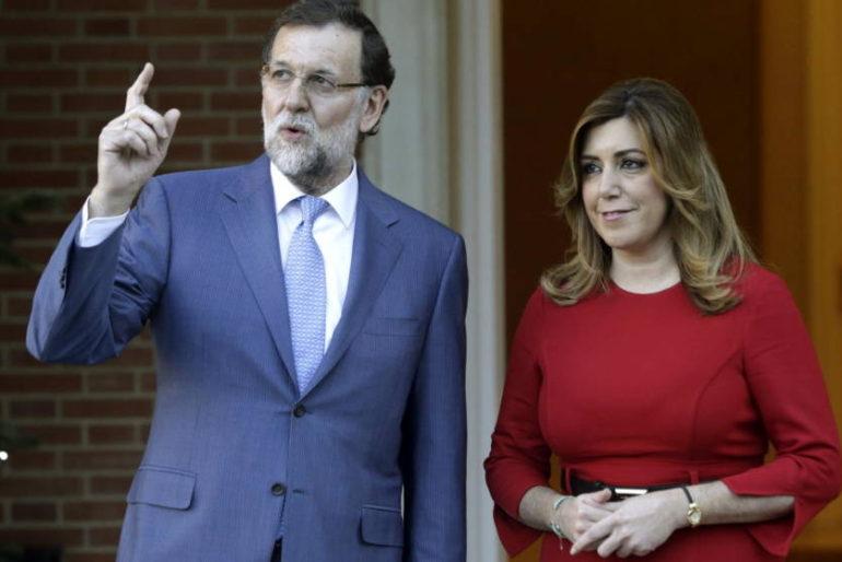 La Junta pide a Rajoy copiar «el modelo de éxito» de Susana Díaz