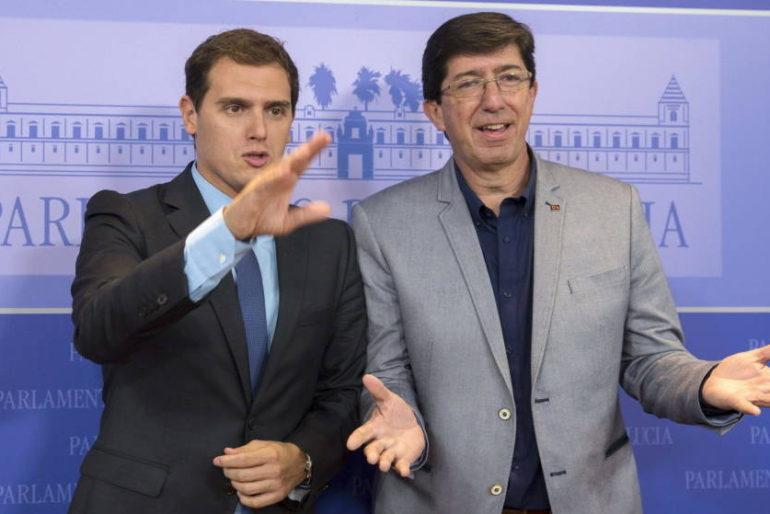C's Andalucía va por libre: seguirá apoyando a Díaz aunque haya acuerdo Rajoy-Rivera